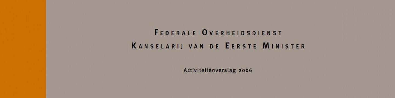 cover activiteitenverslag 2006